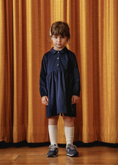 Kids Petits Vilains Mathilde Shirt Dress - Navy