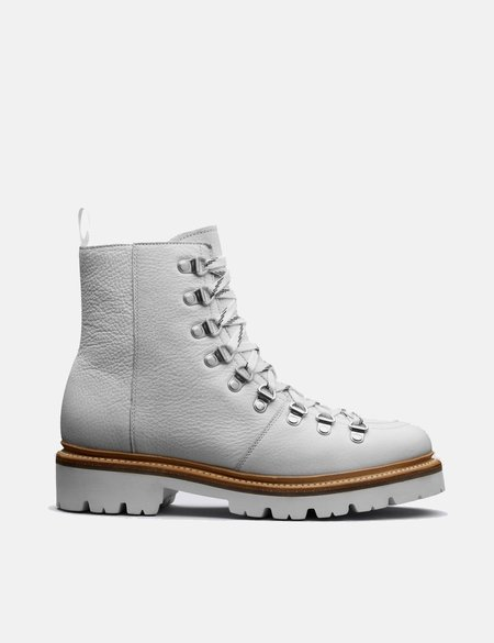 Grenson Nanette Softie Calf Ski Boot - White