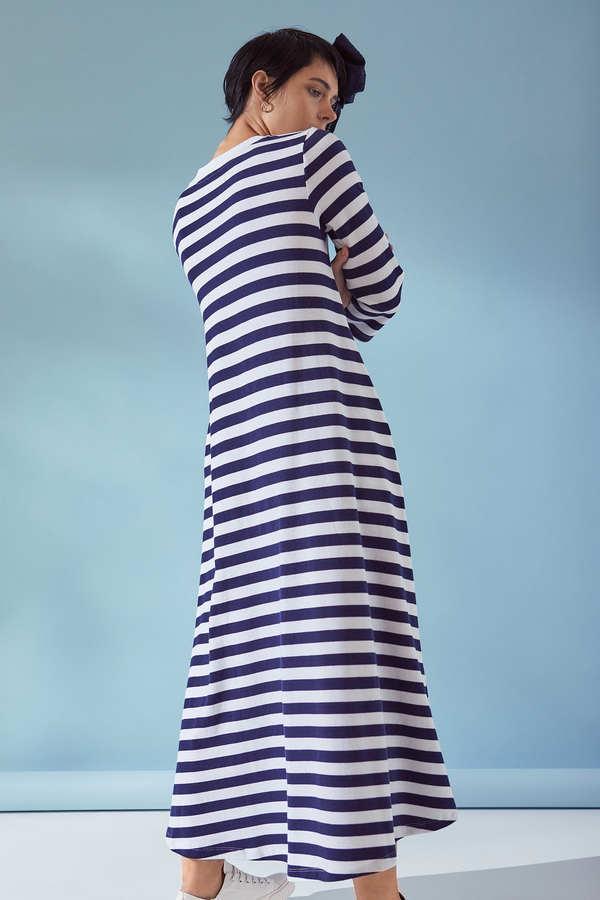 Kowtow 3/4 Sleeve A Line Dress