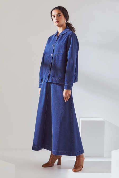 Kowtow Blueprint Jacket in Classic Denim