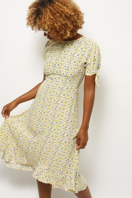 FAITHFULL EMILIA MIDI DRESS - AUURELIA FLORAL