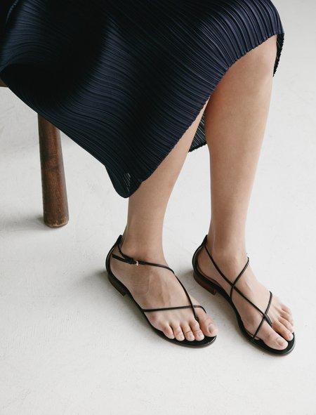 Emme Parsons String Sandal - Black