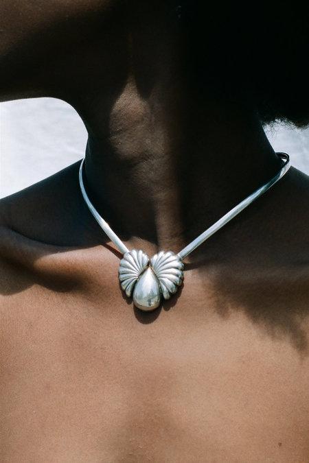 Vintage Modernist Collar - Sterling Silver