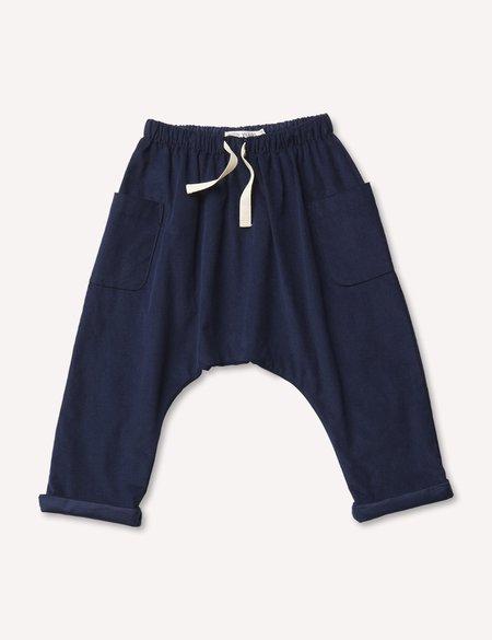 Kids Petits Vilains Blaise Harem Trousers - Navy