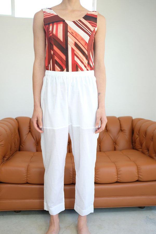 Beklina Basic Pant - White