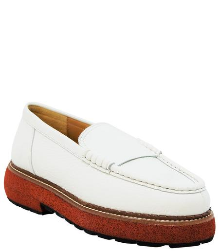 Flamingos Mabel Loafer - White