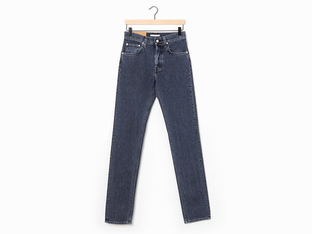 Helmut Lang Masculine Hi Straight Jeans - Midnight Stone