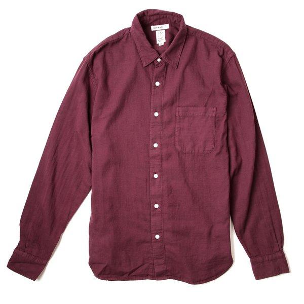 KATO The Ripper Gauze Shirt - Bordeaux