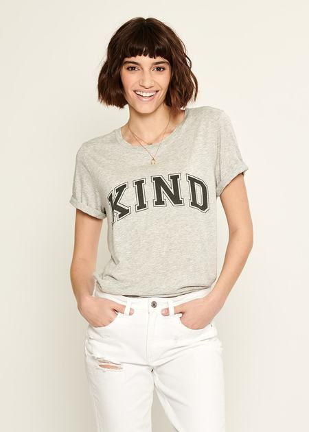 South Parade Kind Lola Tee - Light Heather Grey