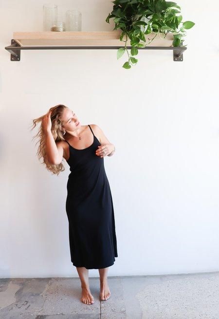 Harlin Kate Rib Dress - Black