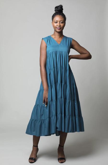 Merlette Santa Elena Dress - Teal