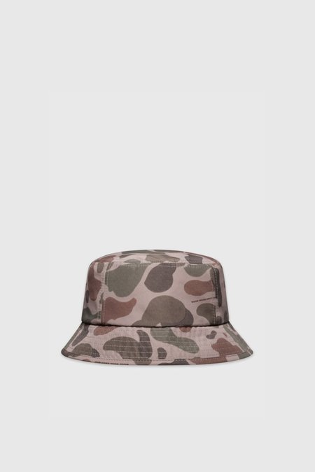 Wood Wood Bucket Hat - Taupe AOP