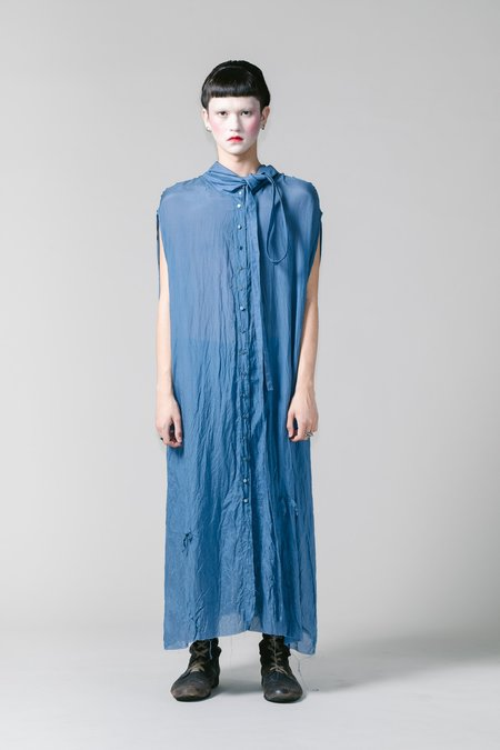 Lela Jacobs Silk Cotton Shirt Dress