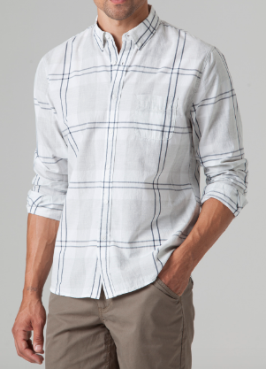 Bridge & Burn Beacon Shirt - Gray