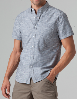 Men's life/after/denim Providence Shirt - Blue