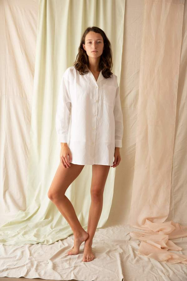 General Sleep Sleep Shirt - Ivory