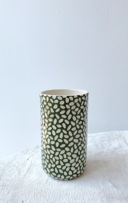 Melissa Koenig Ceramics Olive Vase Series