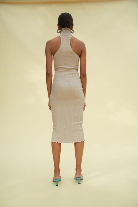 Line by K Cami Dress - Beige