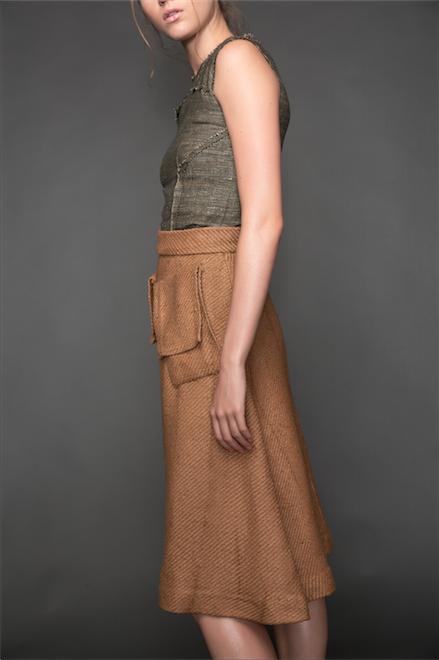 Ajaie Alaie Bihari Silk Skirt