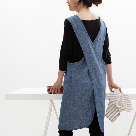 Objective Japanese Style Crossback Linen Apron