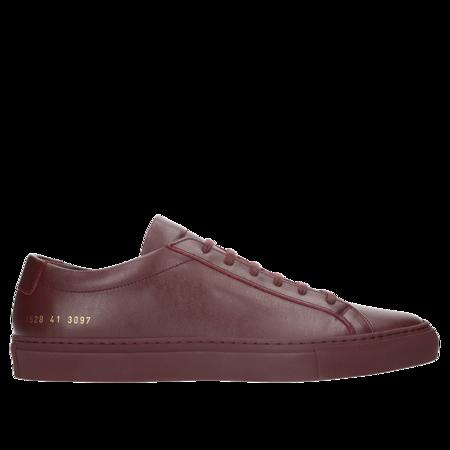 Common Projects Achilles Low Sneakers - Bordeaux