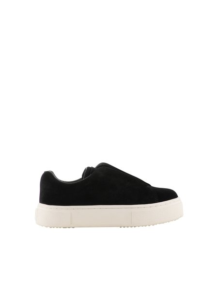 Eytys Doja So Suede Slip-On Sneaker - Black