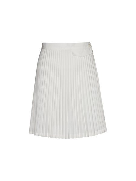 Margaret Howell x Fred Perry Pleated Skirt - White