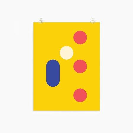 Poketo Dot Cylinder Print