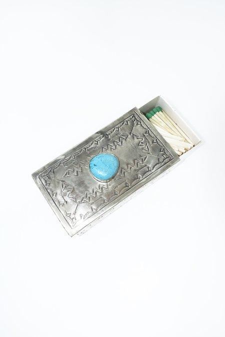 J. Alexander Matchbox Cover - Silver