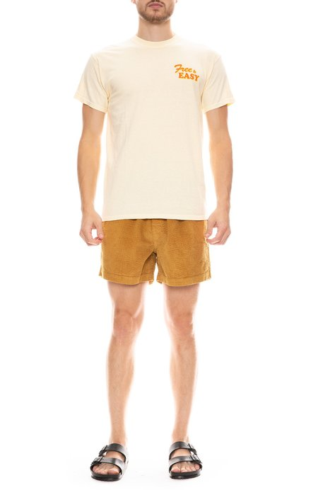 FREE & EASY Corduroy Short - Curry