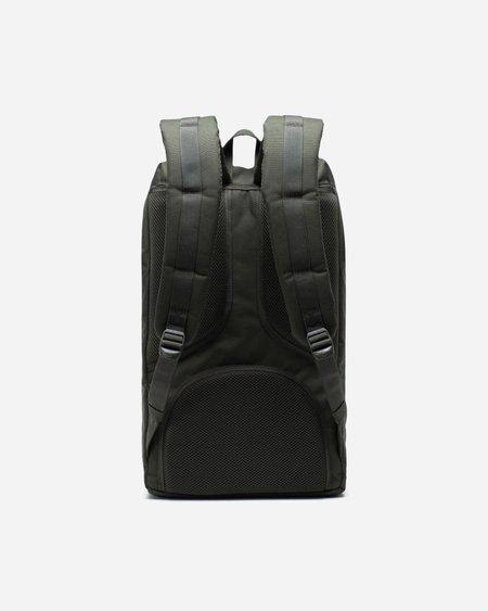 HERSCHEL SUPPLY CO Mochila Little America Backpack - Dark Olive/Saddle Brown