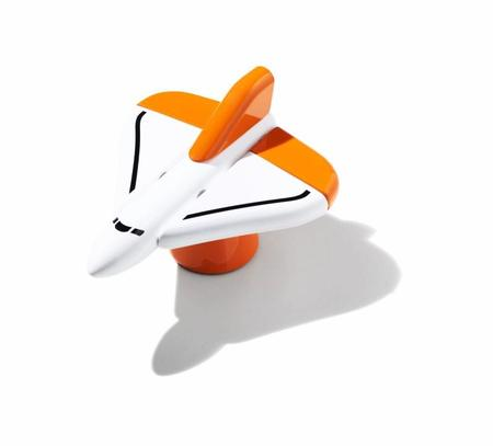 KIDS Huzi Cosmos Pioneer Set - Orange/White