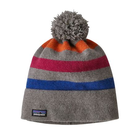 Patagonia Vintage Town Beanie - Block Stripe/Light Feather Grey