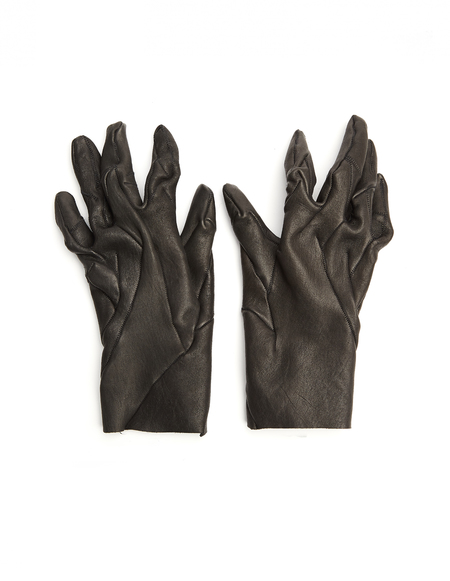 Leon Emanuel Blanck Leather Gloves - black
