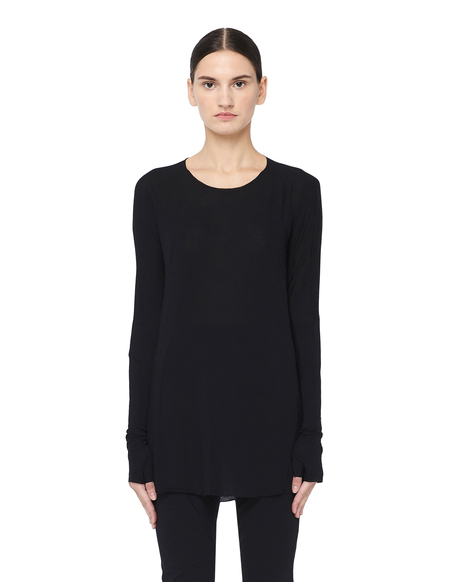 Leon Emanuel Blanck Rayon & Cashmere Long Sleeve T-shirt