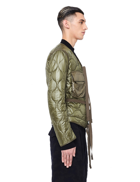 The Soloist Quilted Jacket - Khaki