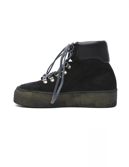 Guidi Chunky Platform Suede Boots