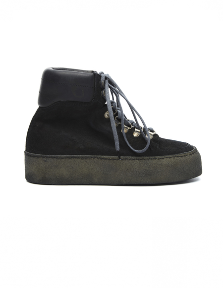 Guidi Suede Platform Boots