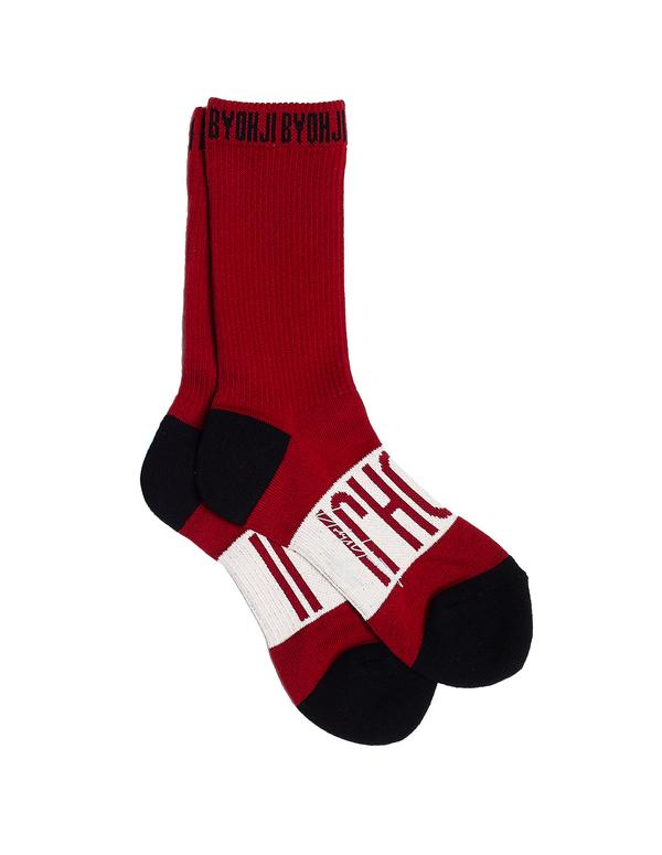 Yohji Yamamoto Cotton Socks - Red