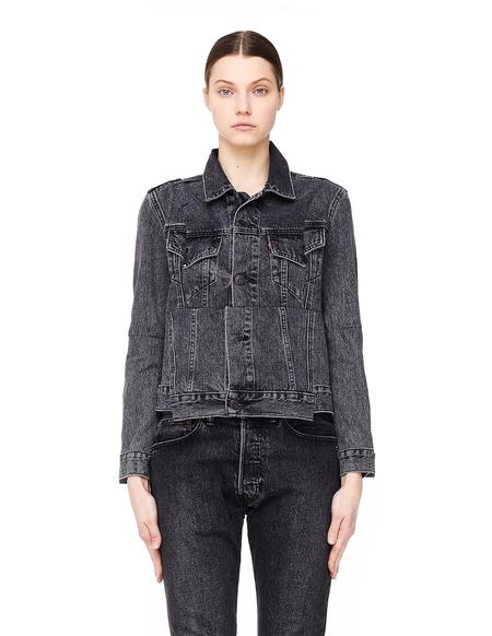 Vetements Cut-Up Denim Jacket