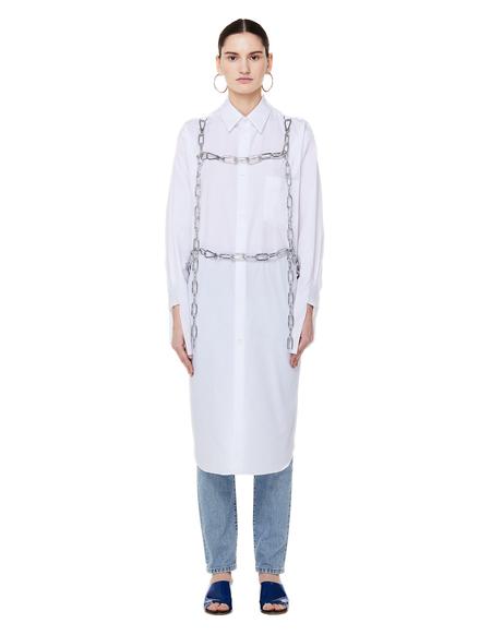 Comme des Garçons Cotton Chains Shirt - White