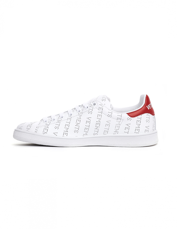 hot sale online 8de38 26aa2 Vetements Stan Smith Leather Sneakers - White
