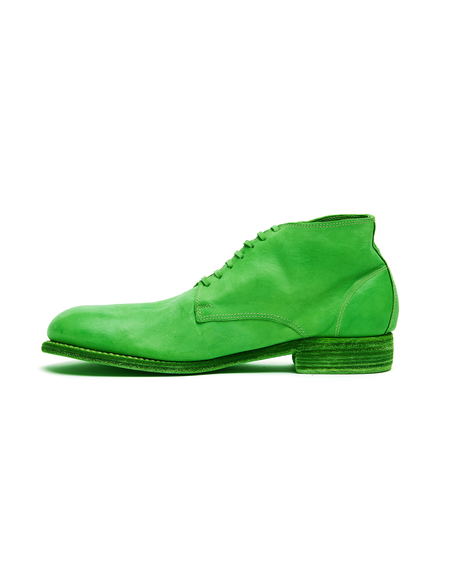 Guidi Leather Desert Boots - Neon Green