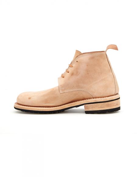 Guidi x Rosellini Leather Boots - Beige