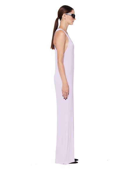 Haider Ackermann Ribbed Cotton Tank Dress - Pink