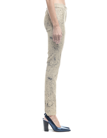 Damir Doma Rayon Printed Trousers - Beige