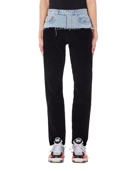 Vetements Corduroy Jeans - Black