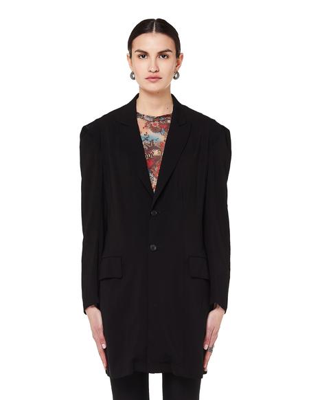 Yohji Yamamoto Elongated Jacket - Black