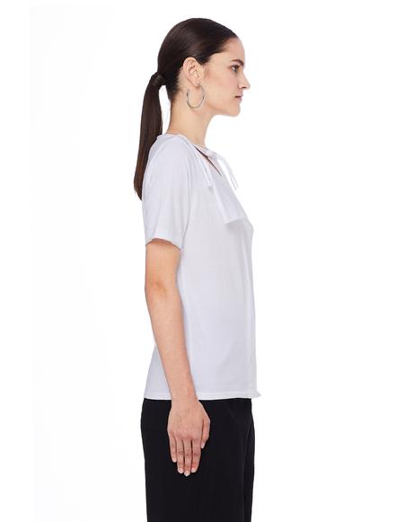 Yohji Yamamoto Cotton T-Shirt - White