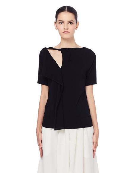 Yohji Yamamoto Cotton T-Shirt - Black